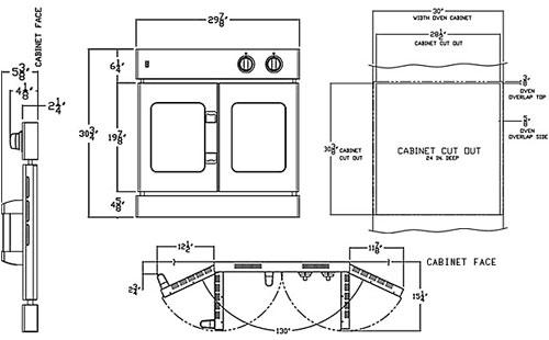 French Door Wall Oven Diagram ...