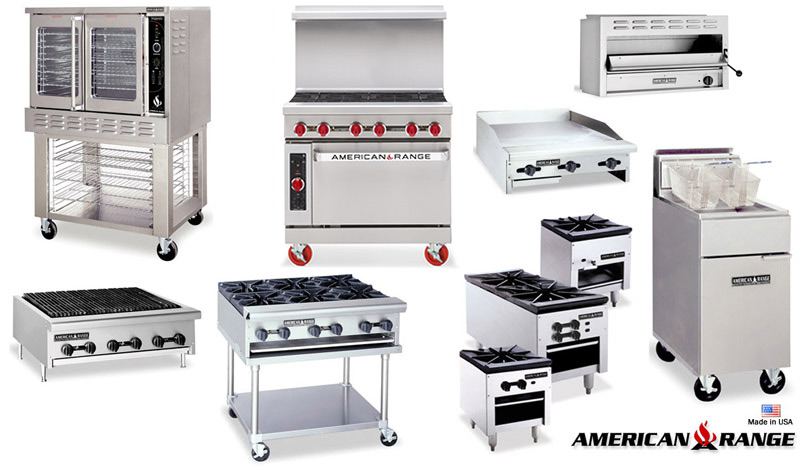 Commercial Restaurant Ranges and Equipment from American Range