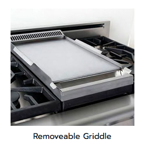 Removeable Griddle Accessory by American Range Residential