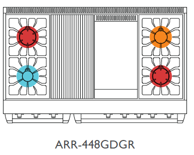 Top Configuration for ARR-448GDGR